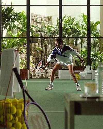 フォーシーズンズ・ホテル・シンガポール Four Seasons Hotel Singaporeのテニスコート