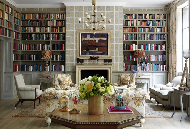 ハム・ヤード・ホテルの図書室