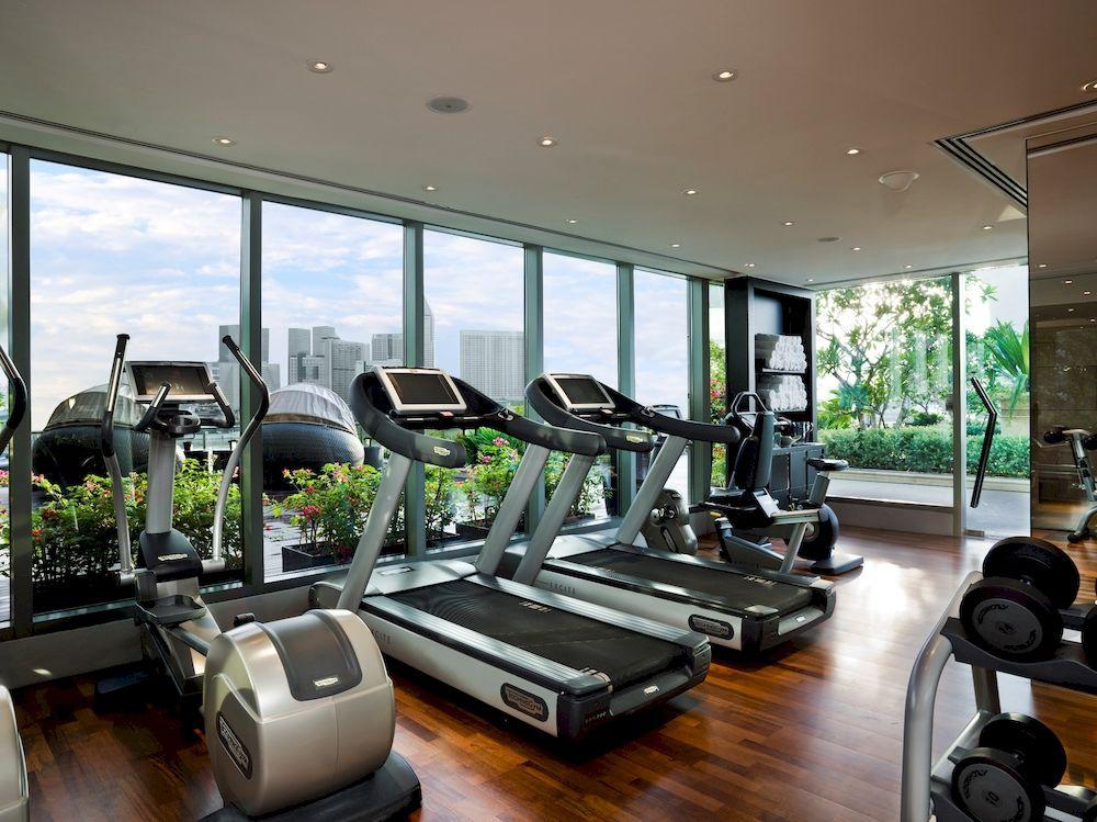 ザ・フラートン・ベイ・シンガポール The Fullerton Bay Hotel Singaporeのフィットネスセンター