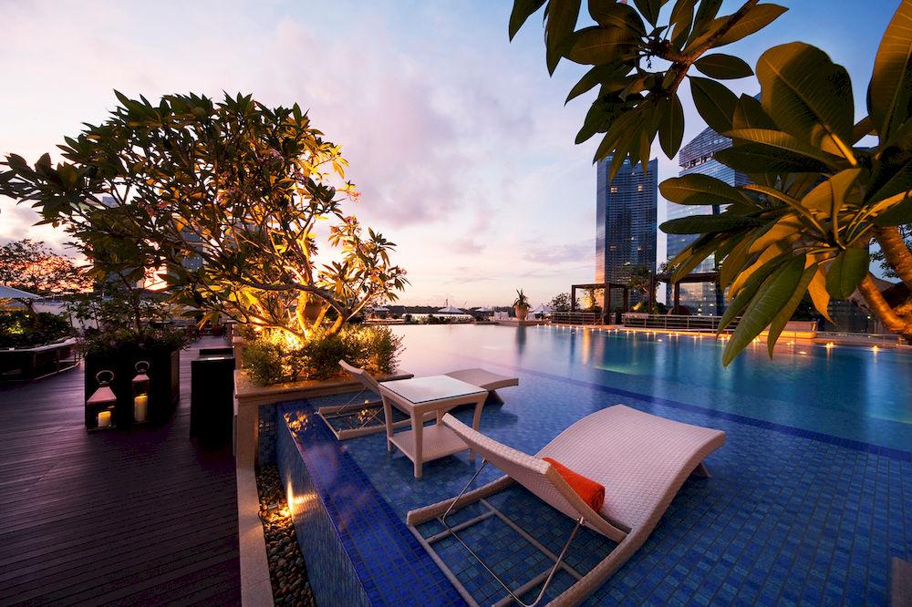 ザ・フラートン・ベイ・シンガポール The Fullerton Bay Hotel Singaporeのスイミングプール