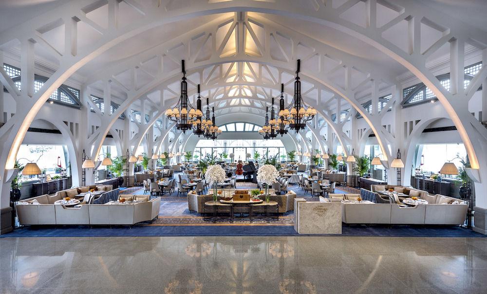 ザ・フラートン・ベイ・シンガポール The Fullerton Bay Hotel Singaporeのレストラン:ザ・クリフォード・ピア