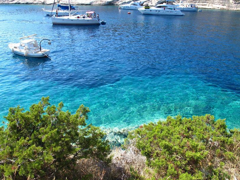 クロアチアのビシェボ島