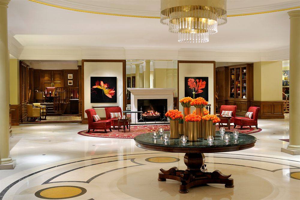 グロブナーハウス・A・JW・マリオット・ホテルのロビー