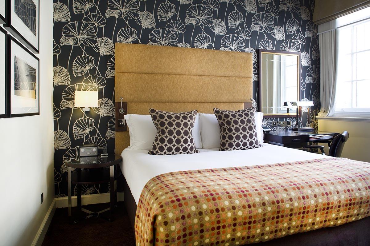 ザ・アーチ・ロンドンのChancery-Suiteの寝室