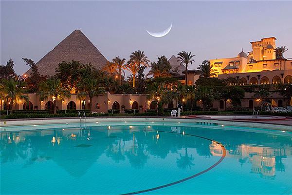 エジプト「メナハウスホテル」