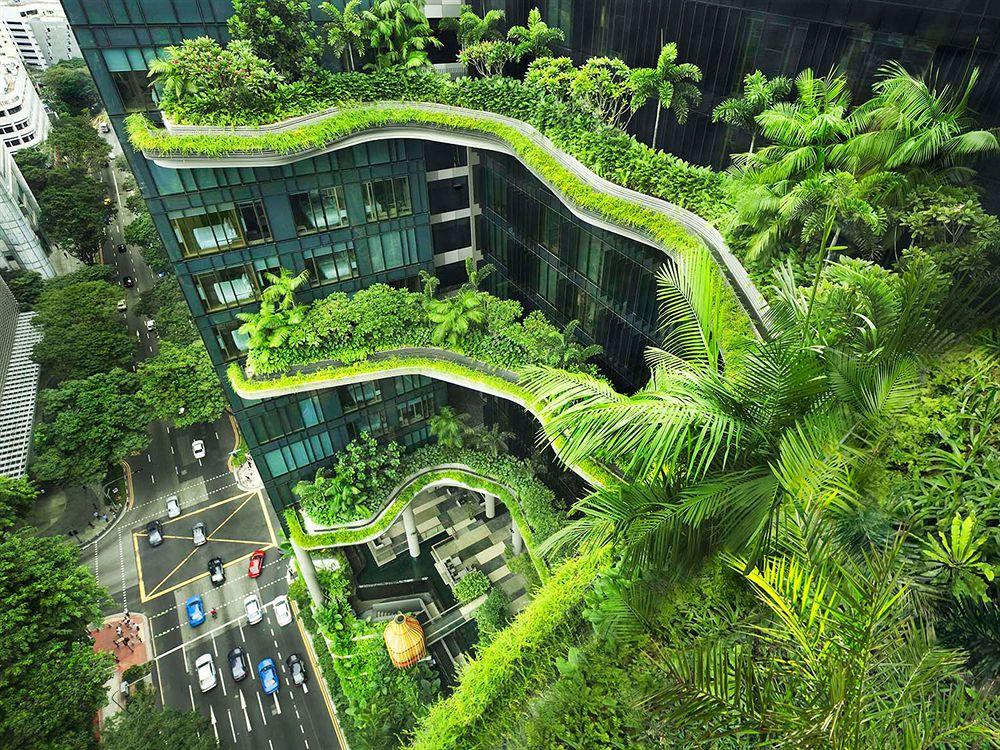 都会の真ん中に佇む、空中庭園ホテル「パークロイヤル・オン・ピッカリング」