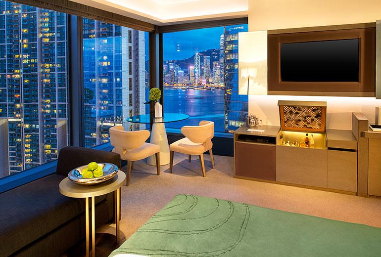 Wホテル香港の客室