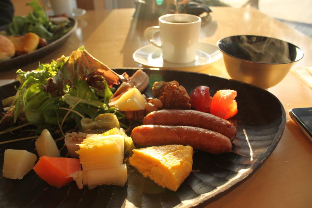 ベネッセ・ハウスの朝食