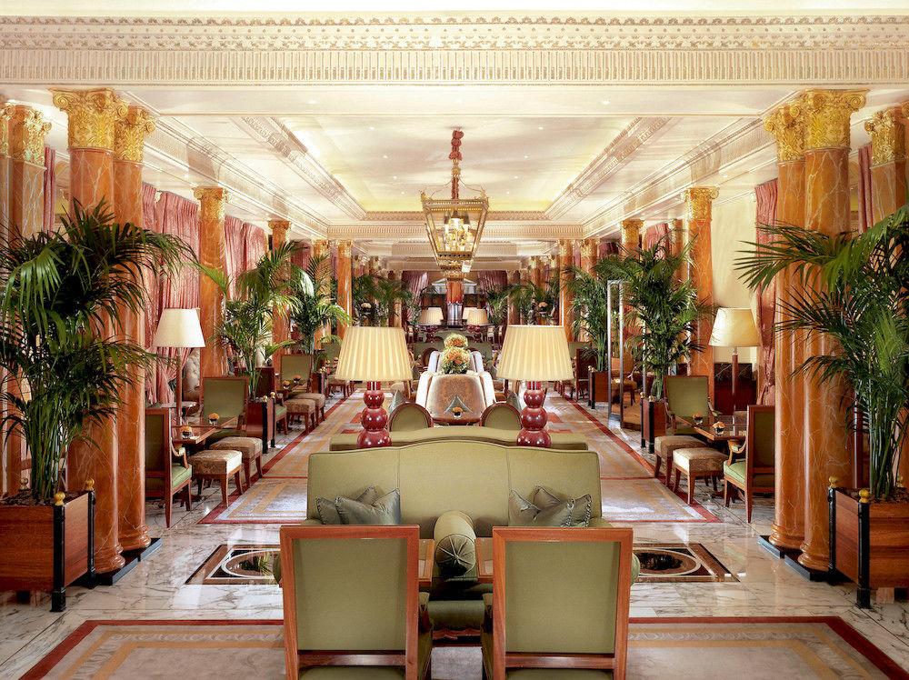 ザ・ドーチェスター・ホテルのロビー