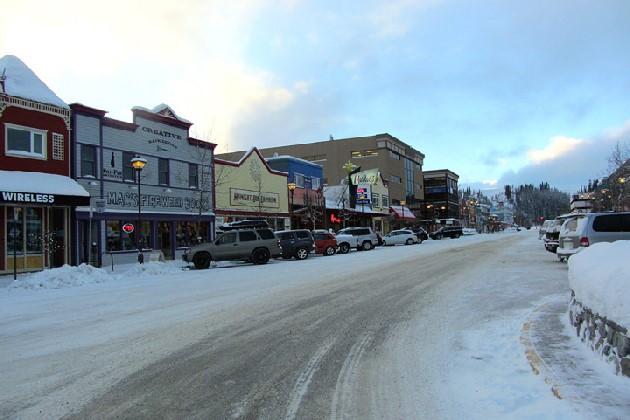 カナダホワイトホースダウンタウン