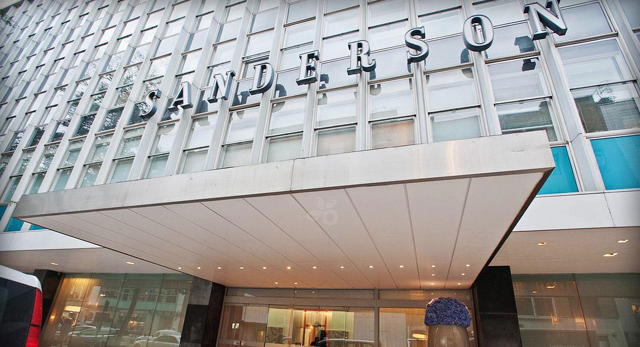 モダンでユニークなデザインが魅力的なブティックホテル「サンダーソン」