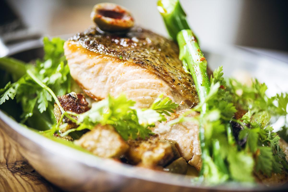 ザ・アーチ・ロンドンのHunter-486-Restaurantの料理