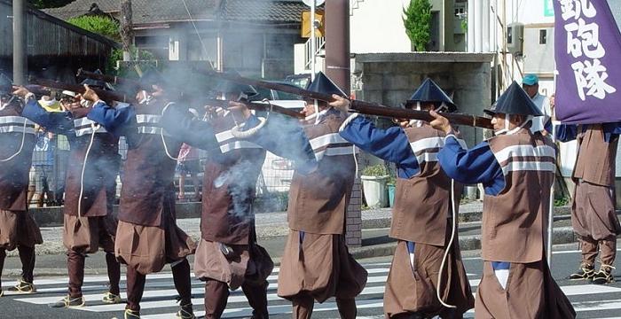 種子島の鉄砲祭り