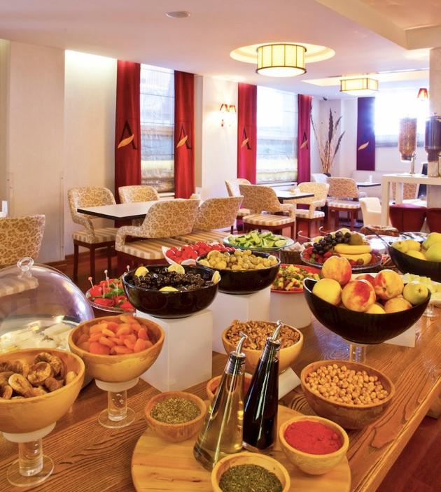 ホテル・アミラの朝食