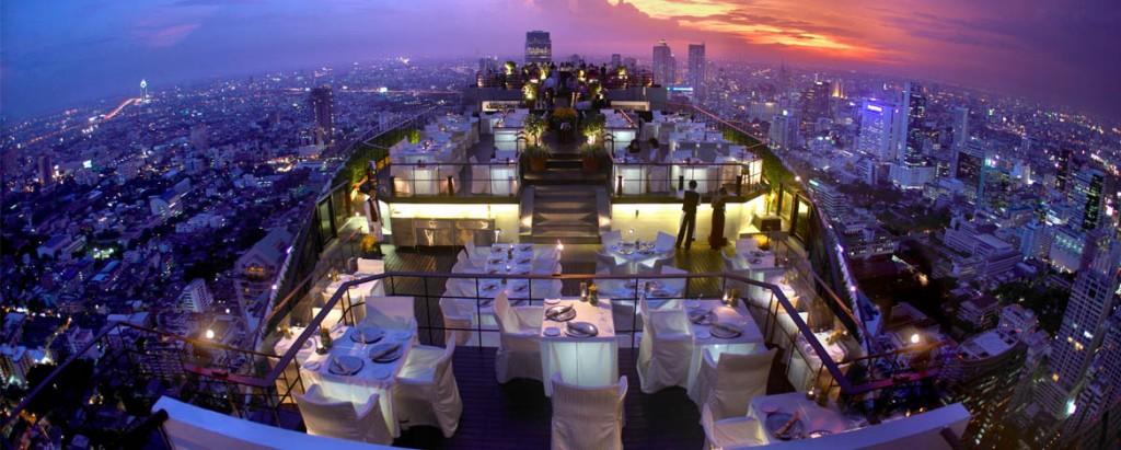 ホテル最上階にあるヴァーティゴ&ムーン・バー