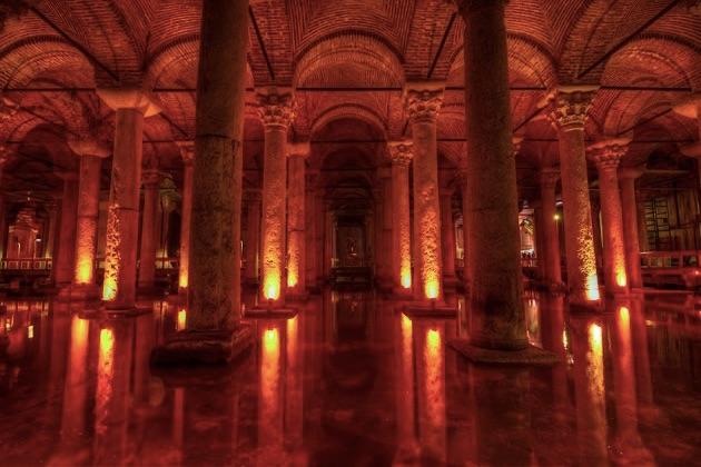地下宮殿全景