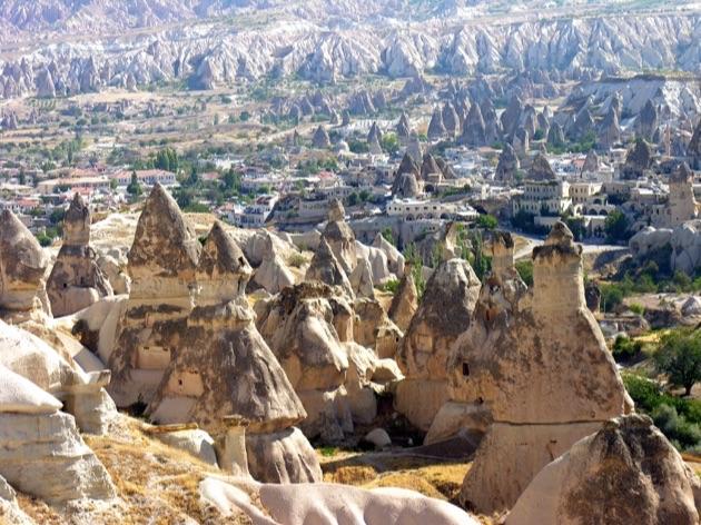 今トルコで一番人気のホテル「カヤカピ・プレミアム・ケイブス・カッパドキア」