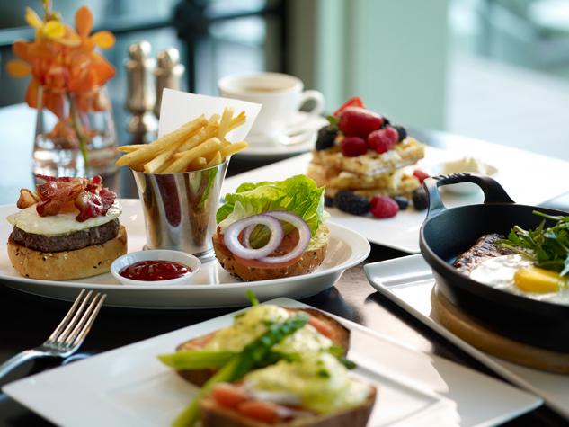 ザ・フラートン・ベイ・シンガポール The Fullerton Bay Hotel Singaporeのレストラン:ラ・ブラッセリーの料理