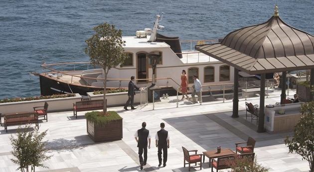 フォーシーズンズ・ホテル・イスタンブール・アット・ザ・ボスポラスの船乗り場