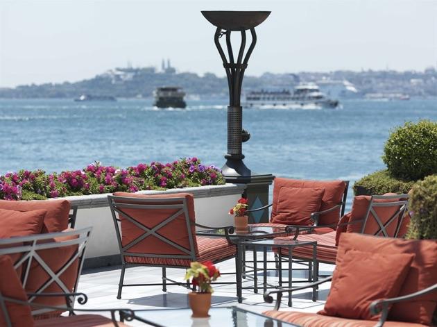 19世紀のスルタンの離宮をリノベーションした「フォーシーズンズ・ホテル・イスタンブール・アット・ザ・ボスポラス」