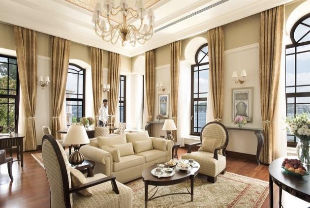 フォーシーズンズ・ホテル・イスタンブール・アット・ザ・ボスポラスの部屋2