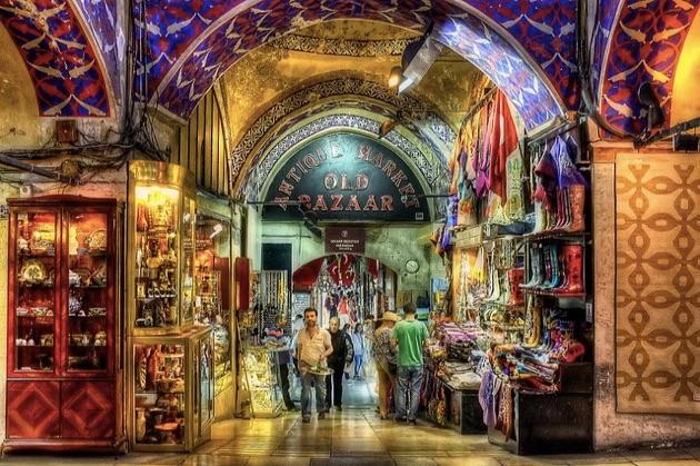 世界で最も訪問された観光スポット1位に輝いたイスタンブールの「グランド・バザール」