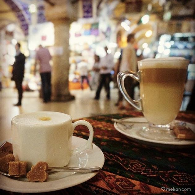 グランド・バザールのカフェ