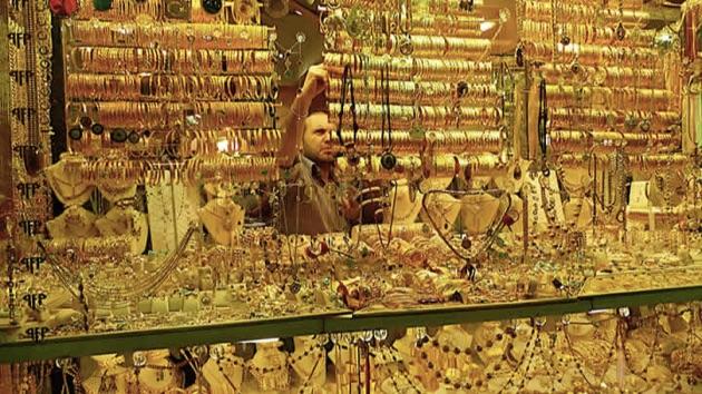 グランド・バザールの貴金属のお店