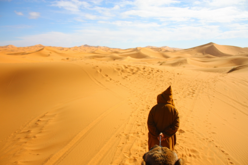サハラ砂漠ツアーの画像です。