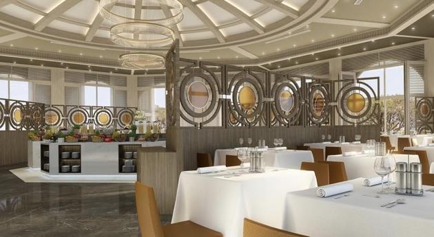 パピリオン・ゼウグマ・リラグジュアリーのレストラン