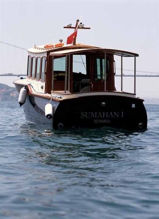 スマハン・オン・ザ・ウォーターの専用ボート