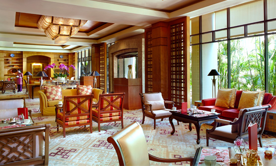 リージェント・シンガポール  Regent SingaporeのTea Lounge(ティー・ラウンジ)