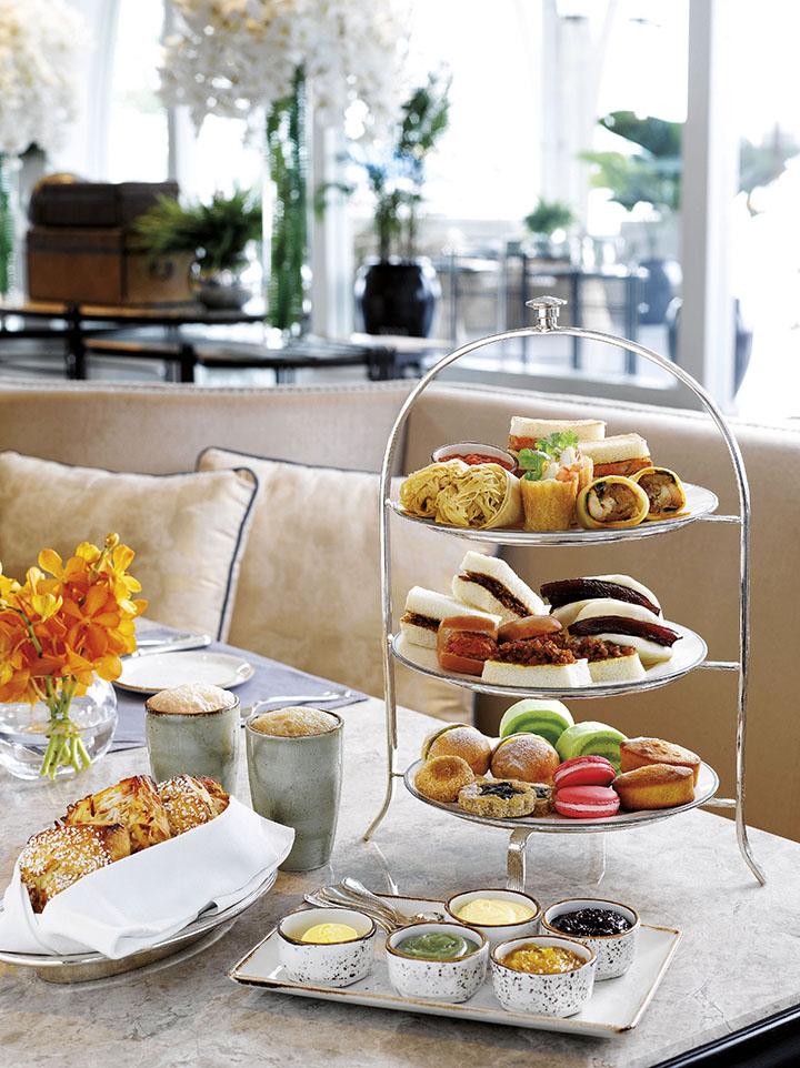 ザ・フラートン・ベイ・シンガポール The Fullerton Bay Hotel Singaporeのレストラン:ザ・クリフォード・ピアのアフタヌーンティー