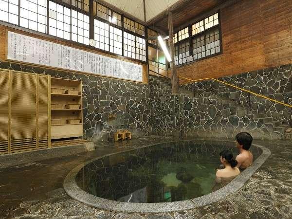 鉛温泉 心の刻 十三月のお風呂