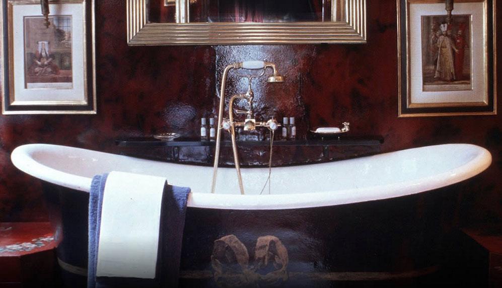ブレイクス・ロンドンの客室バスルーム