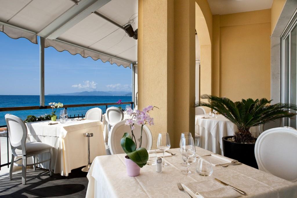 ホテル・アル・サラチェーノ・ヴァリゴッティ Hotel Al Saracenoのレストラン