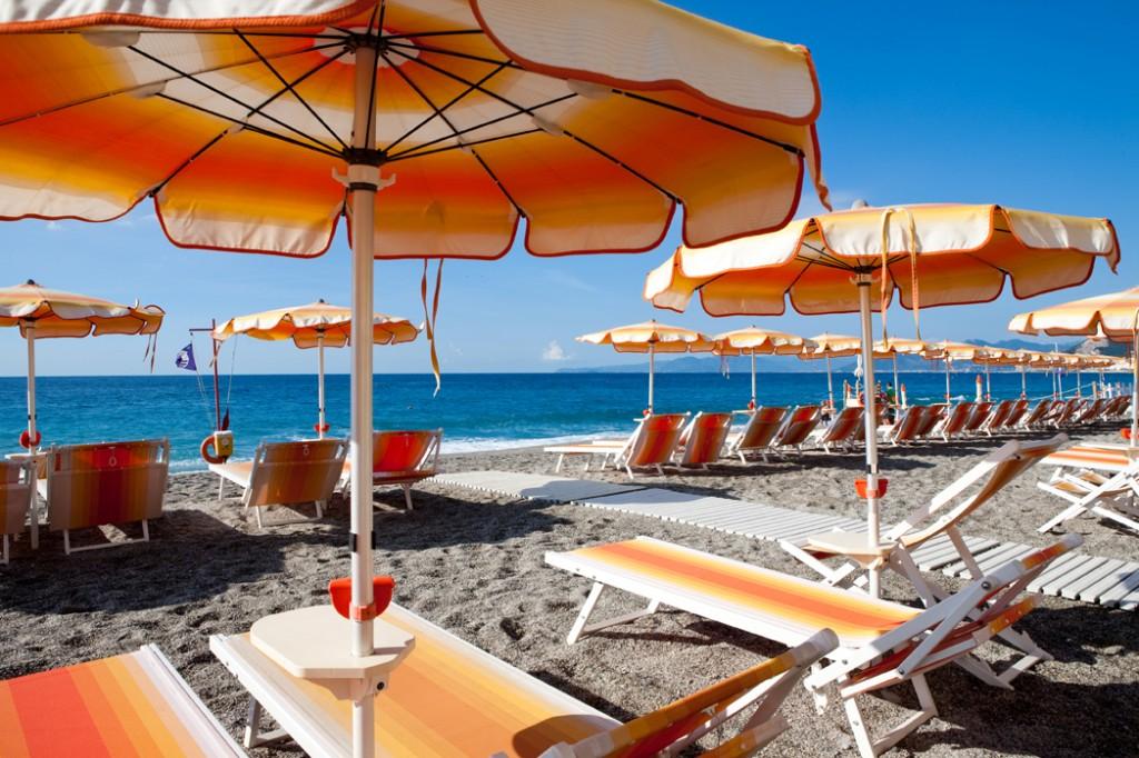 ホテル・アル・サラチェーノ・ヴァリゴッティ Hotel Al Saracenoのビーチ