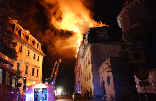 アンナアマリア図書館火災