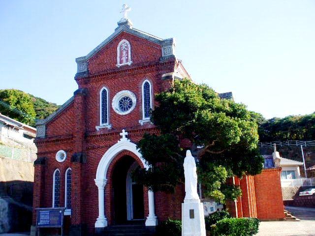 青砂ヶ浦教会の外観