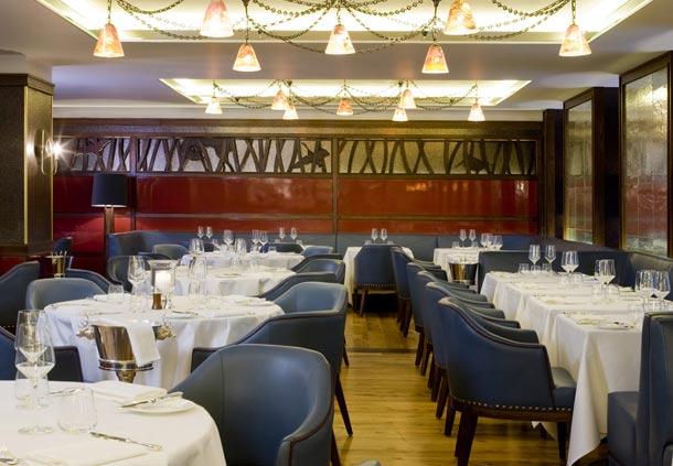 グロブナーハウス・A・JW・マリオット・ホテルのメイフェアレストラン