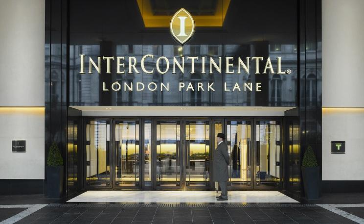 インターコンチネンタル・ロンドン・パークレーンの外観