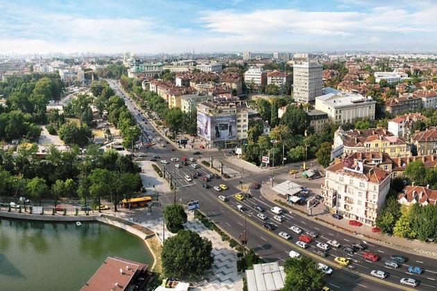 ブルガリアの街並み