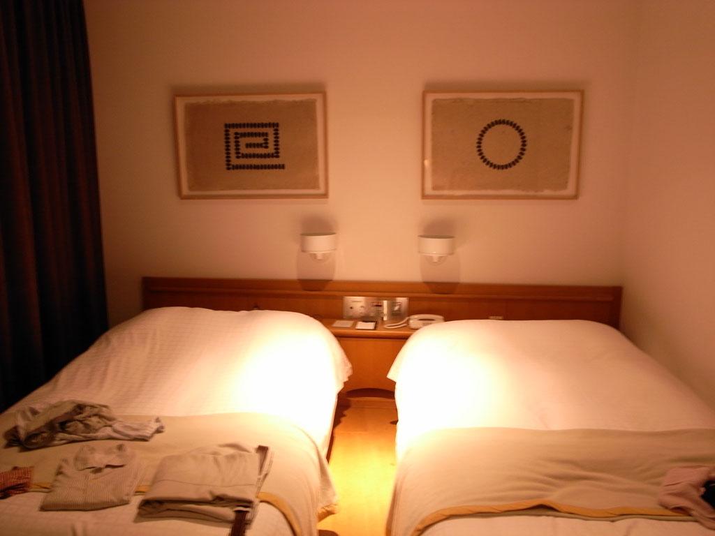 ベネッセ・ハウスの客室