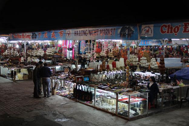 ベトナムハロン湾ナイトマーケット