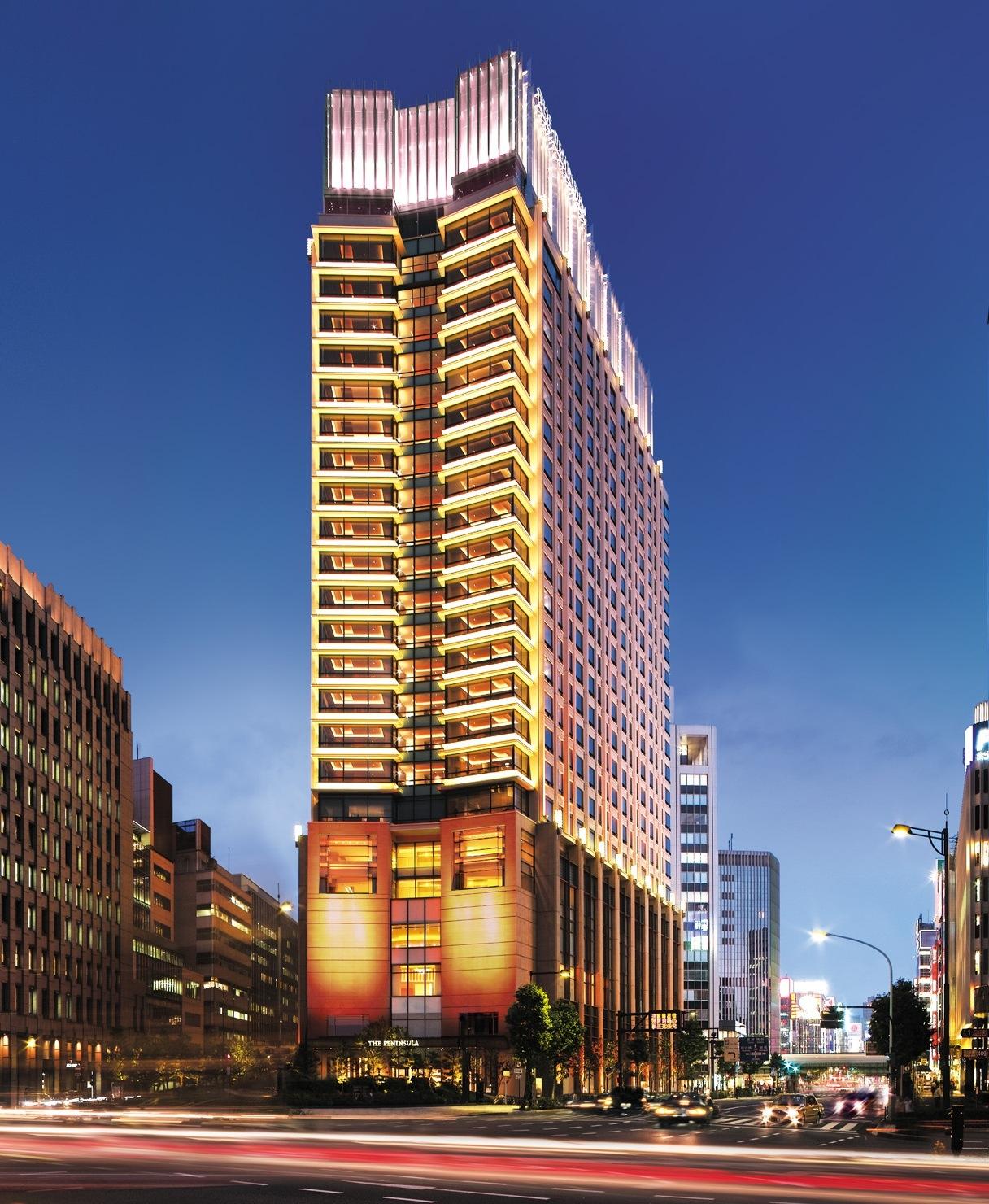 東京で優雅な滞在を楽しむ「ザ・ペニンシュラ東京」