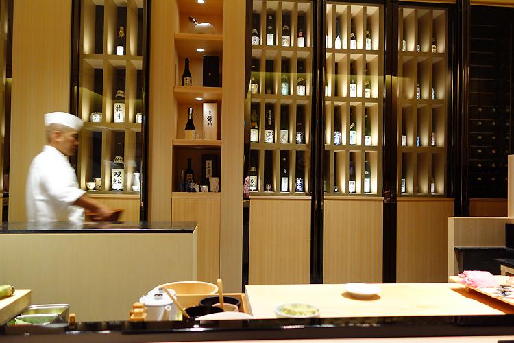 ザ・セント・レジス・シンガポール The St. Regis SingaporのShinji By Kanesaka(シンジ・バイ・カネサカ)