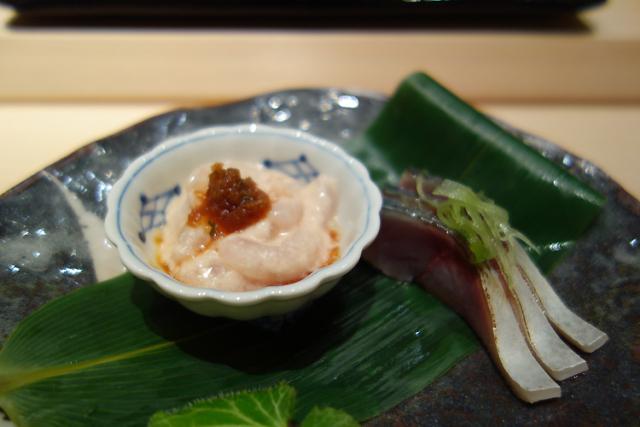 ザ・セント・レジス・シンガポール The St. Regis SingaporのShinji By Kanesaka(シンジ・バイ・カネサカ)の料理