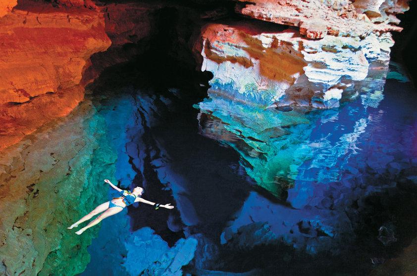チャパダ・ディアマンティーナ Chapada Diamantinaの透き通った水