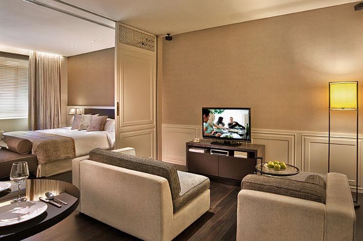 アスコット・ラッフルズ・プレイス・シンガポール Ascott Raffles Place Singaporeのルームタイプcollyer suite