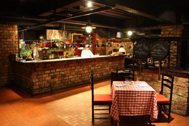 グランド・ハイアット・シンガポール Grand Hyatt SingaporeのPete's Place Italian Restaurant(ピーツ・プレイス・イタリアン・レストラン)